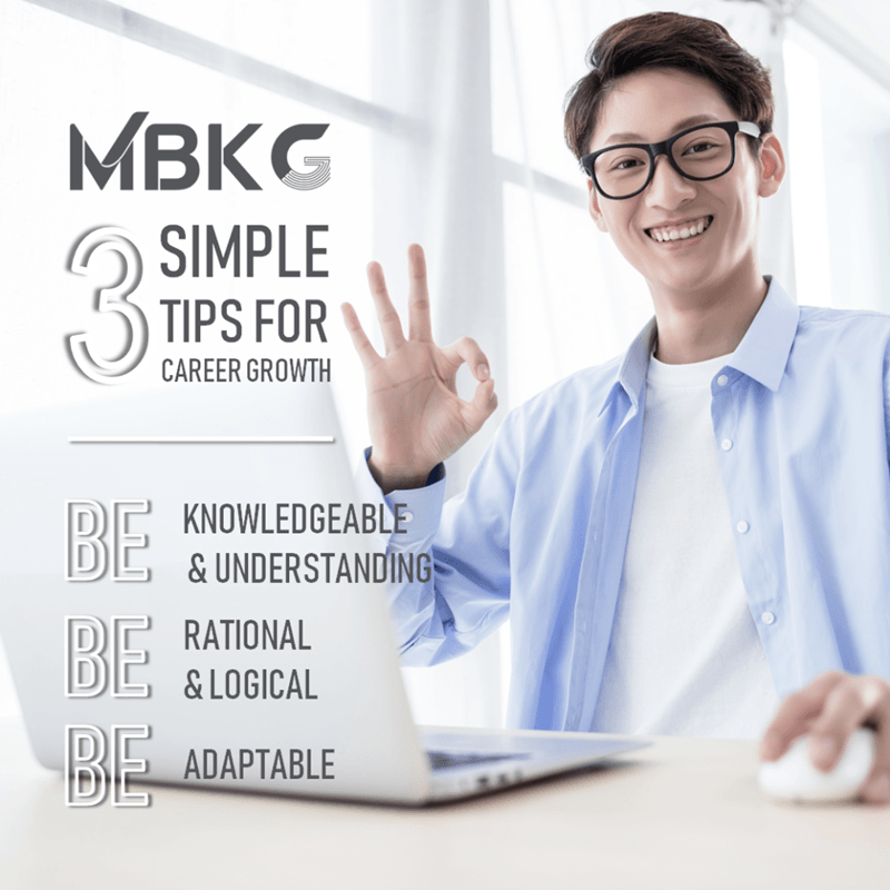 3 Simple Tips for Career Growth